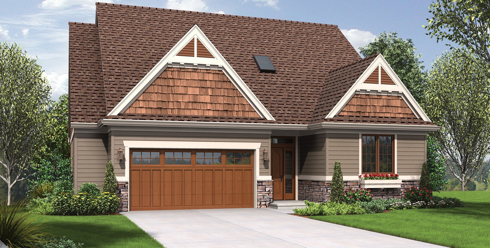 Image for Newmarket-Deceptively Spacious Cottage Plan-4182