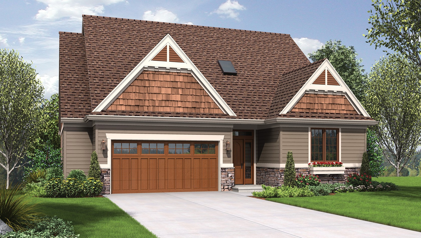 Main image for house plan 1221CC: The Newmarket