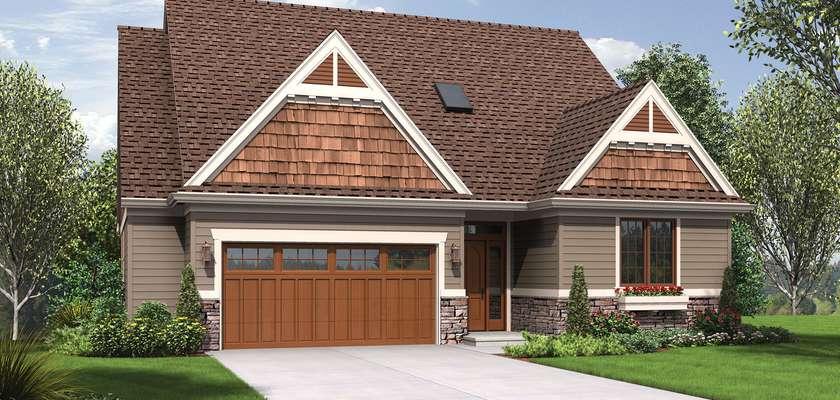 Mascord House Plan 1221CC: The Newmarket
