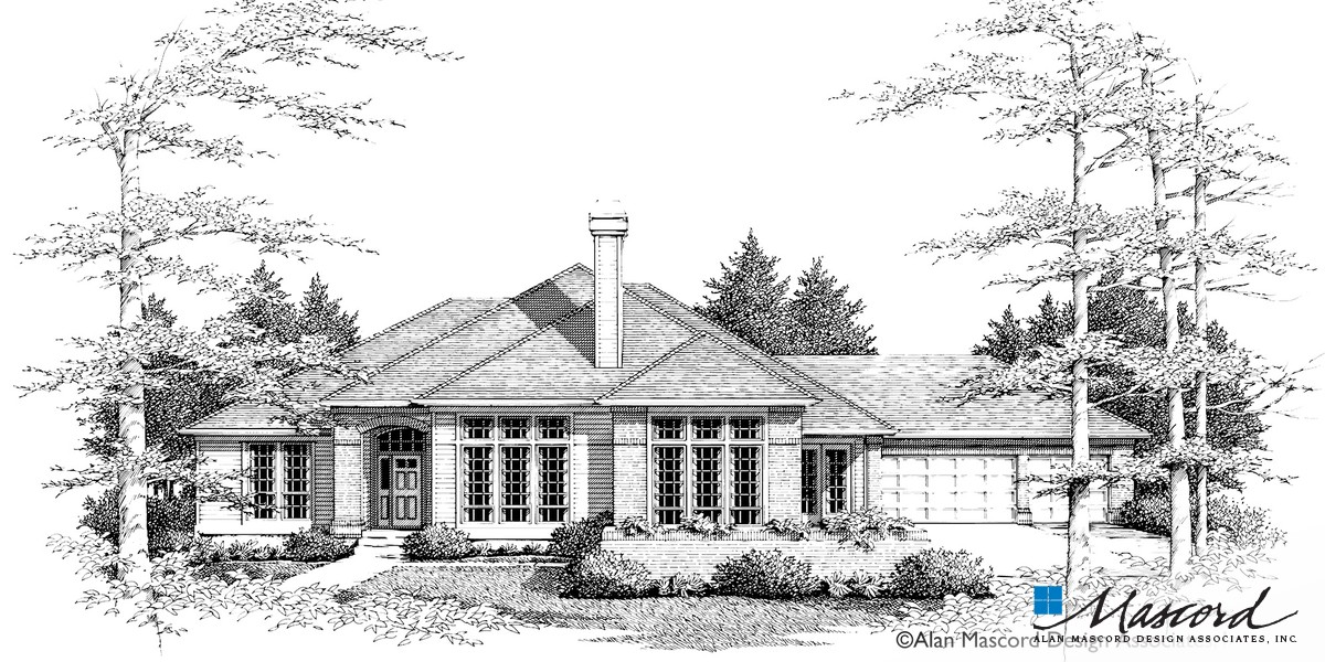Image for Augusta-4 Bedroom Single Level with View to the Front-Front Rendering
