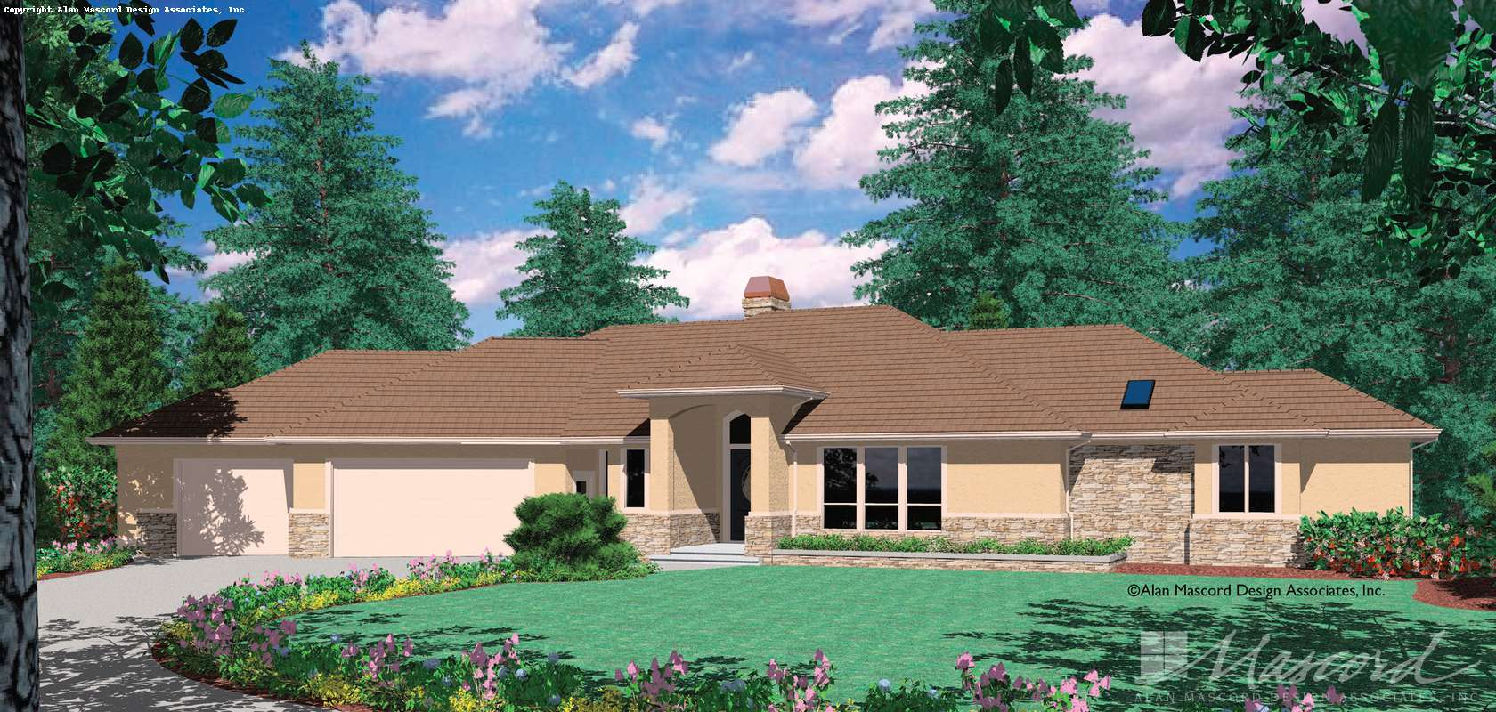 Mascord House Plan 1225: The Hayden
