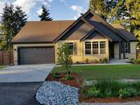Front Exterior by David Ideker Construction, Tacoma, WA