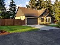Front Exterior by David Ideker Construction, Tacoma, WA