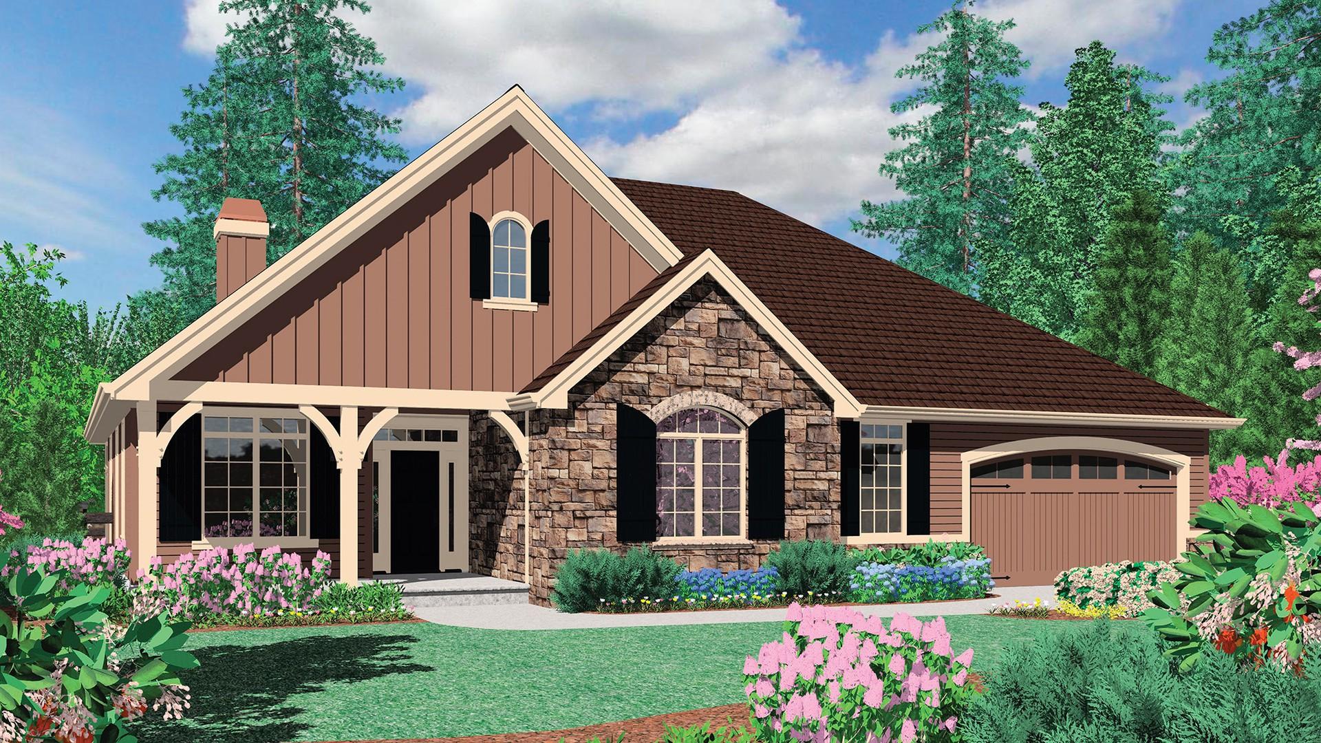 Mascord House Plan 1231a The Blackburn