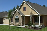 Front Exterior of Mascord House Plan 1231A - The Blackburn