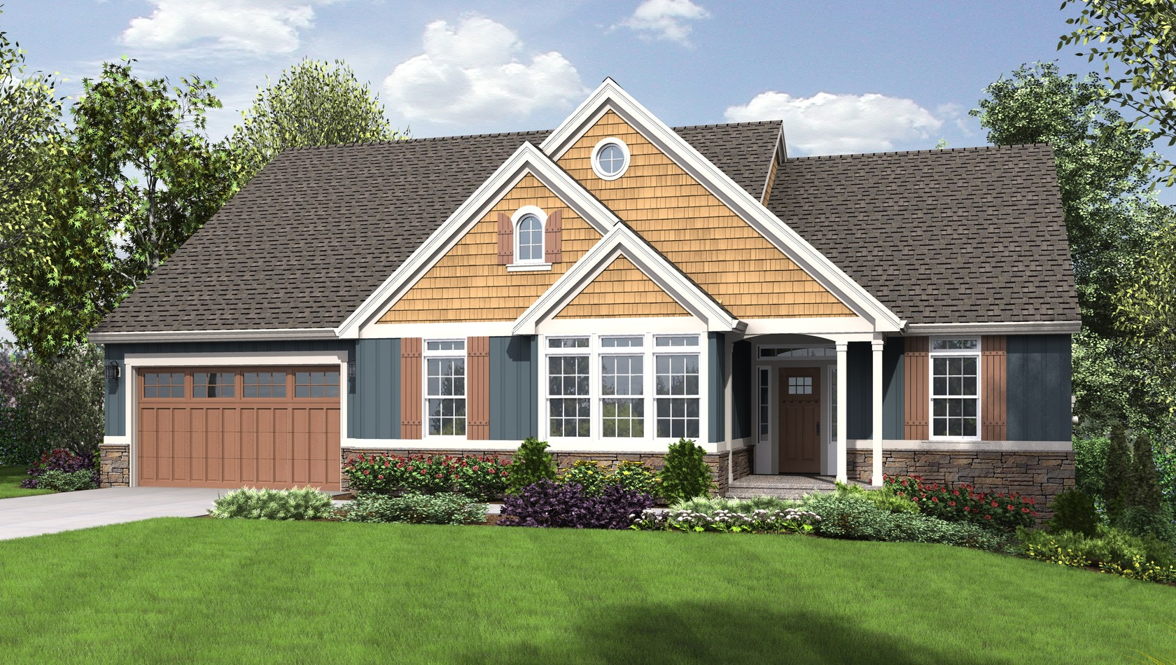 Main image for house plan 1231B: The Munich