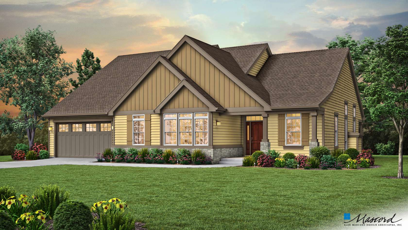 Main image for house plan 1231E: The La Puente