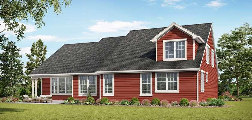Mascord House Plan 1231EA: The La Quinta