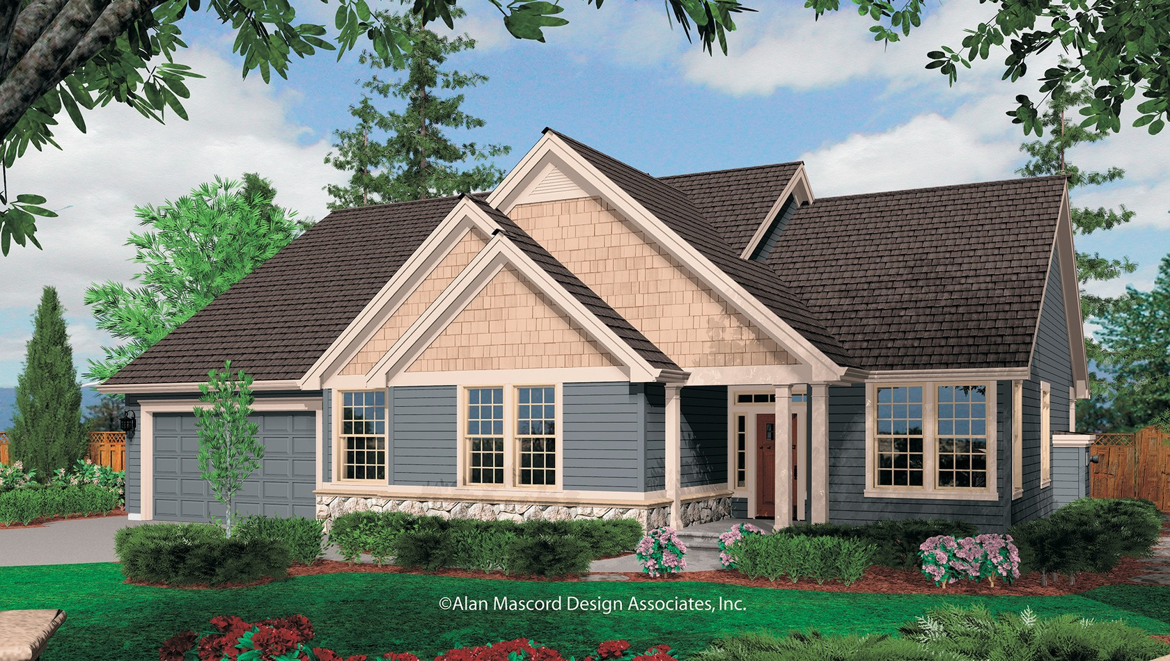 Main image for house plan 1231F: The Saratoga