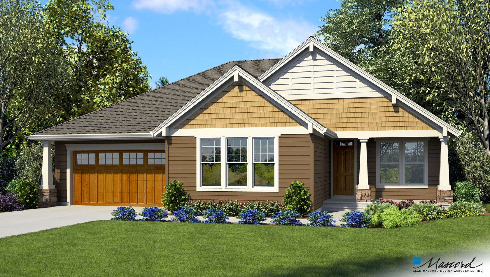 Main image for house plan 1231Q: The Coopertown