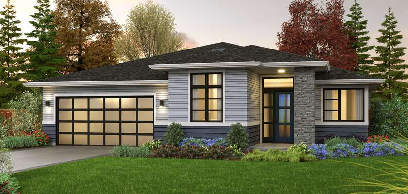 Mascord House Plan 1231R: The Bronte