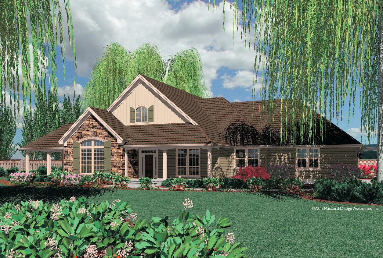 House Plan B1232 The Garrett