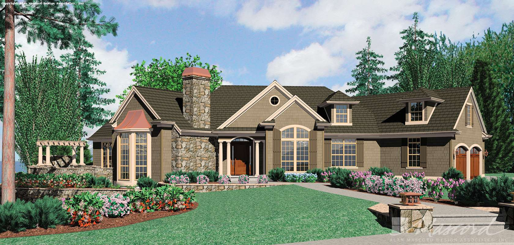 Mascord House Plan B1233: The Cainsville