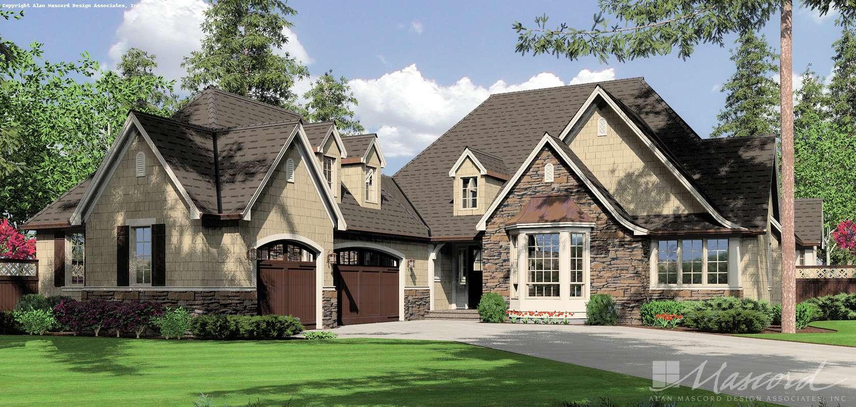 Mascord House Plan 1234: The Alberg