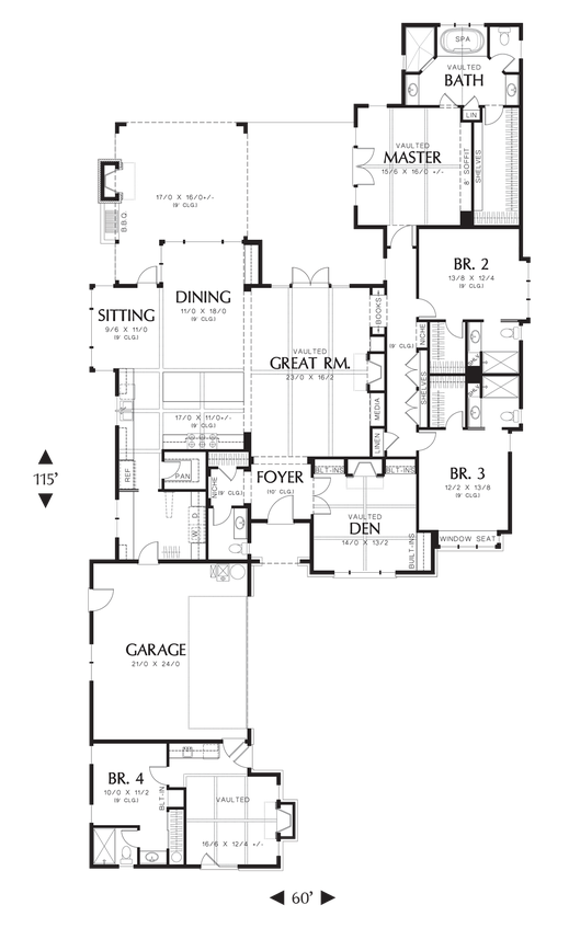 House Plan 1234b The Harriet