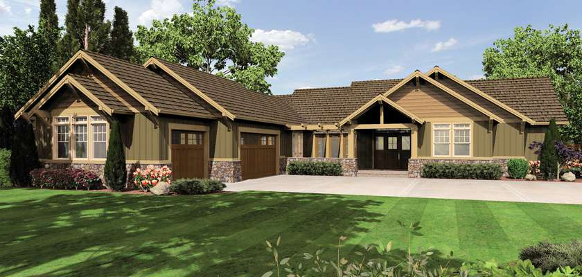 Mascord House Plan 1235: The Broderick