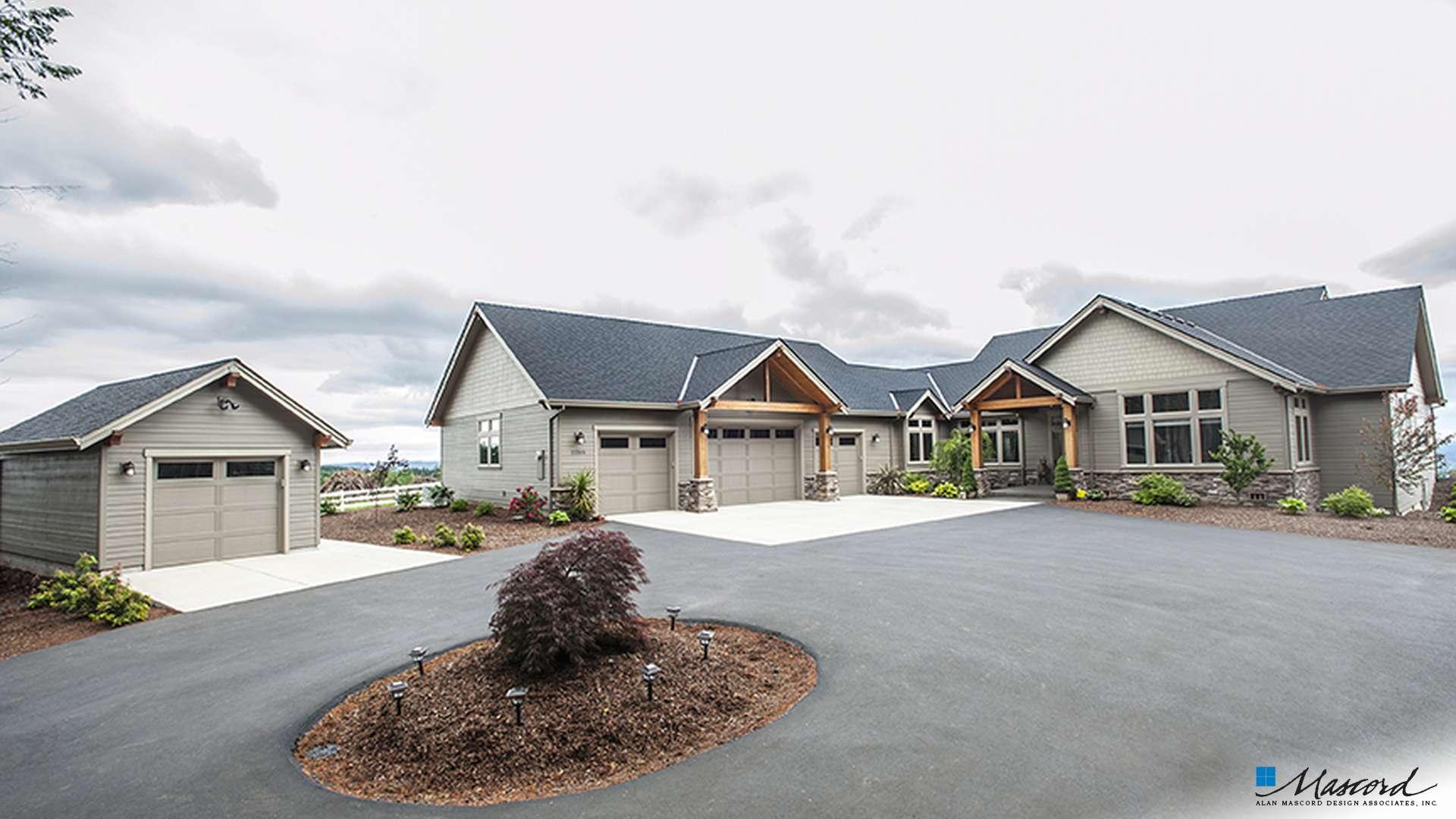 Craftsman House Plan 1235 The Broderick: 2999 Sqft, 4 Bedrooms, 2.1 ...
