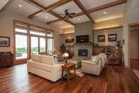 Great Room by Ironwood Homes