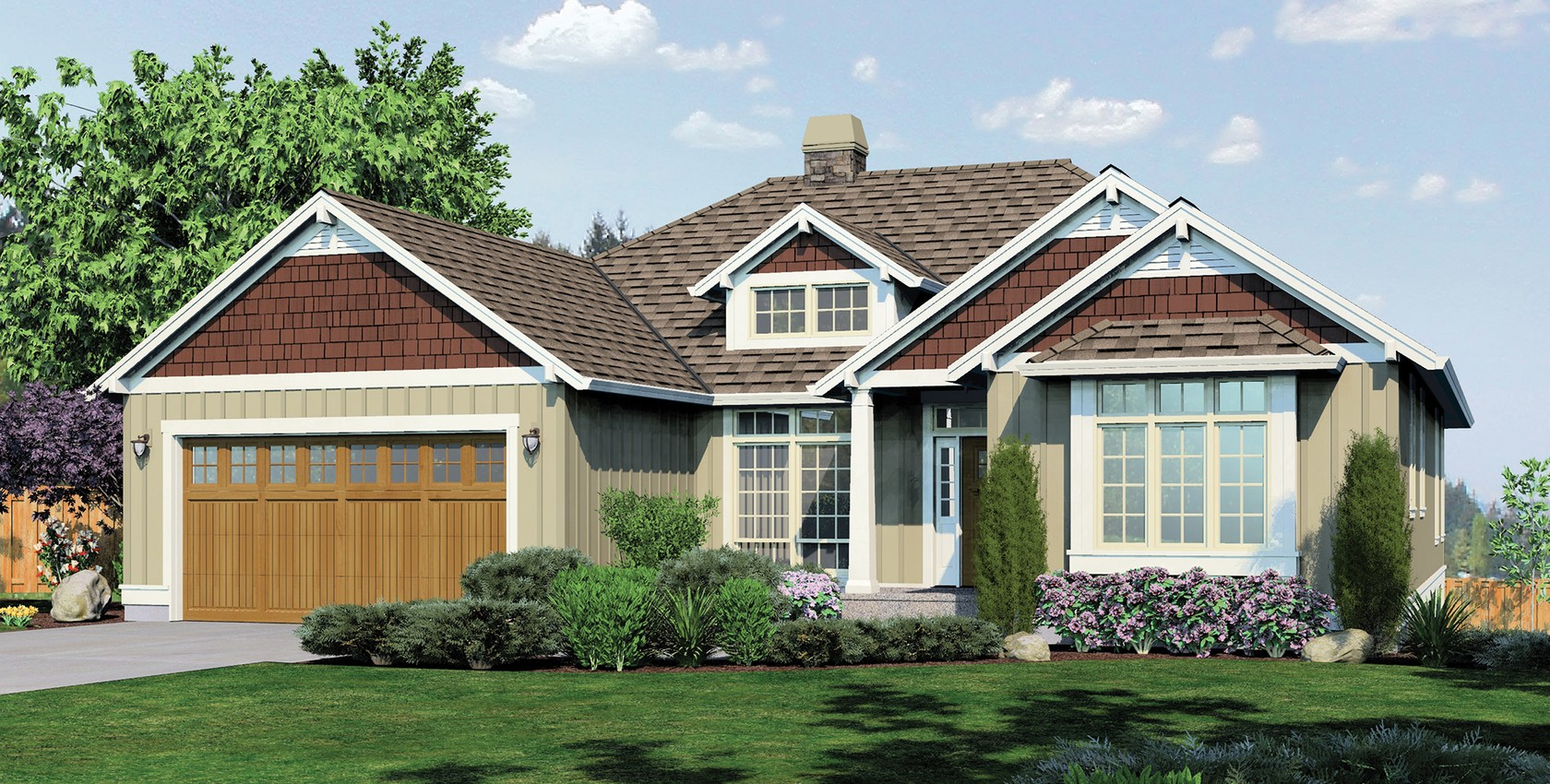 Mascord house plan 1236 the linden for Mascord plans