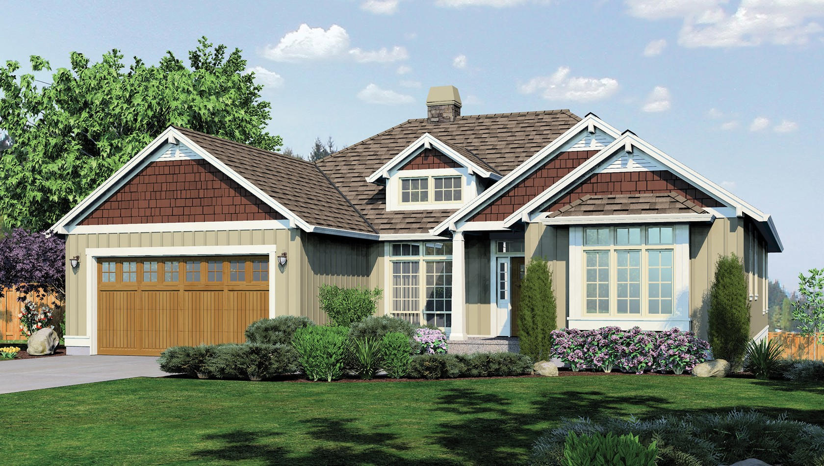Main image for house plan 1236: The Linden