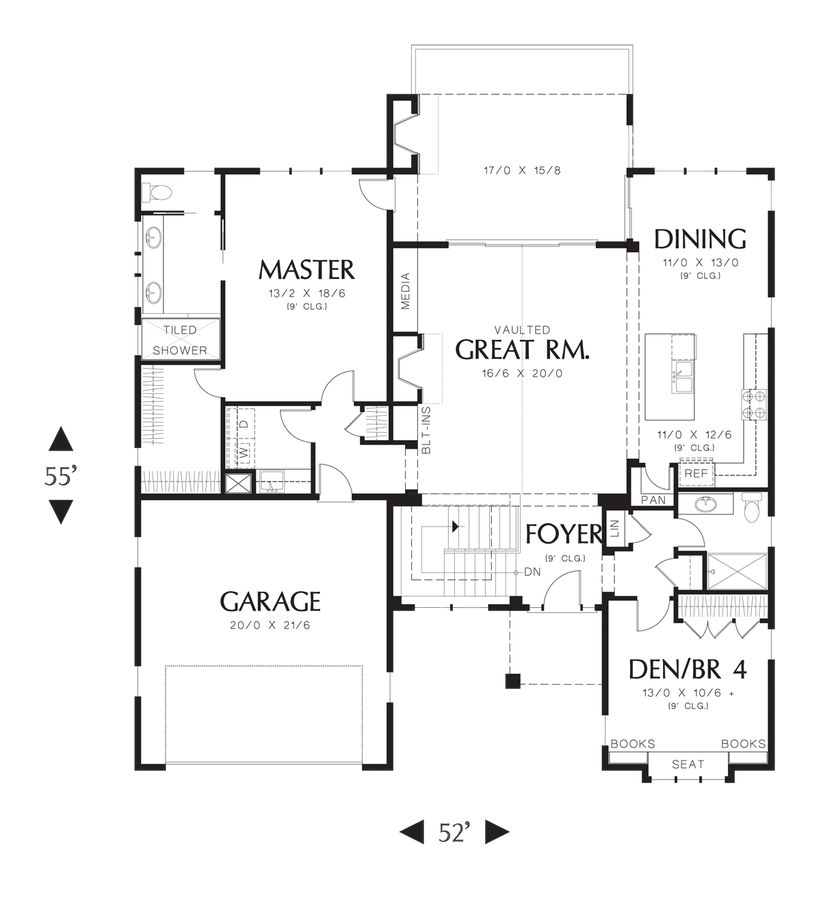 Image for Linden-Traditional Design, Contemporary Elegance-Main Floor Plan