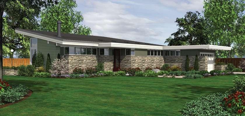 Mascord House Plan 1238: The Mitchell Glen