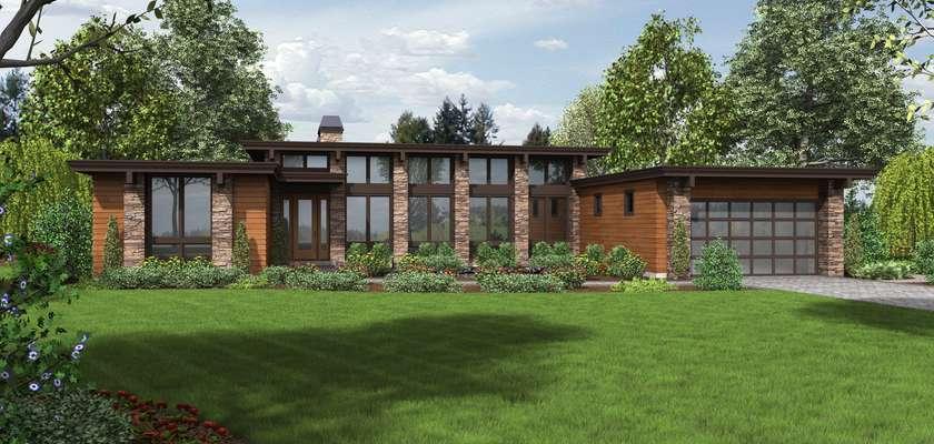 Mascord House Plan 1240: The Hampton