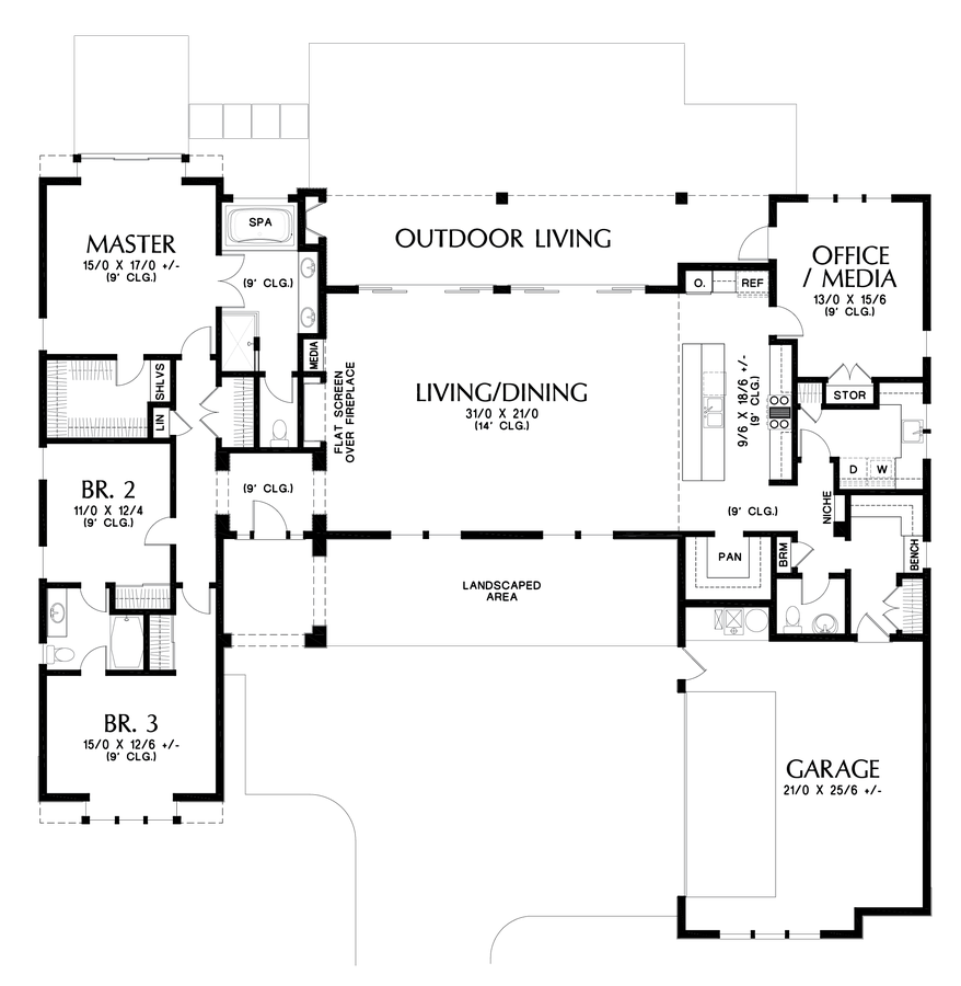 Image for Mapleview-Great Indoor Outdoor Connection-Main Floor Plan