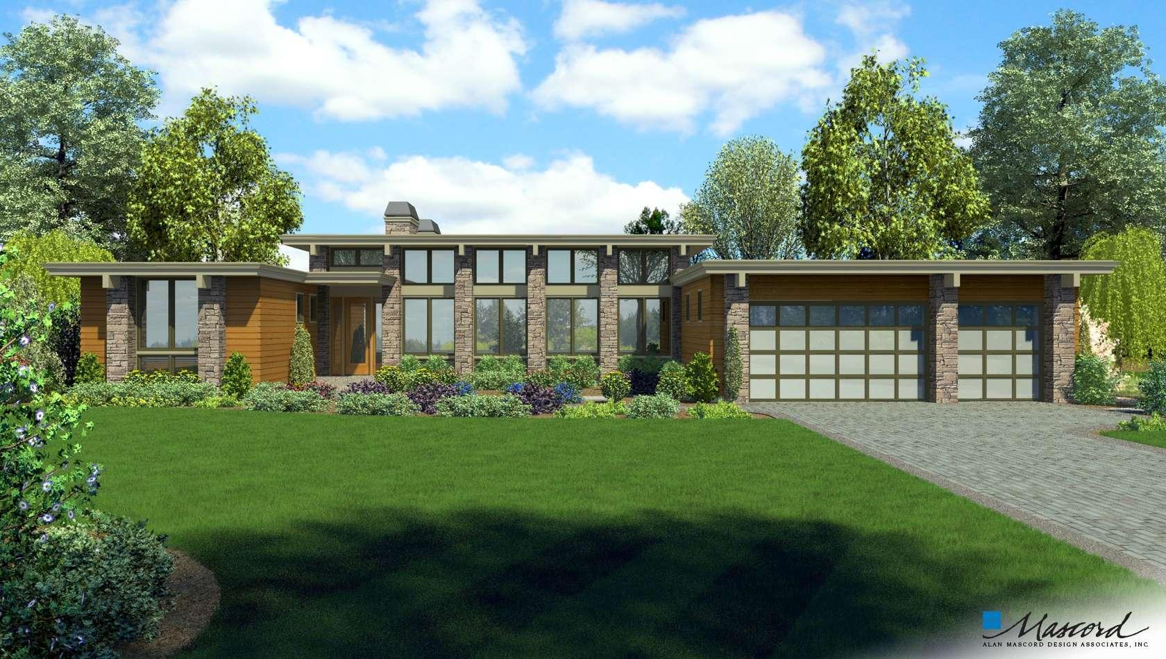 Mascord House Plan 1240C: The Goldsboro