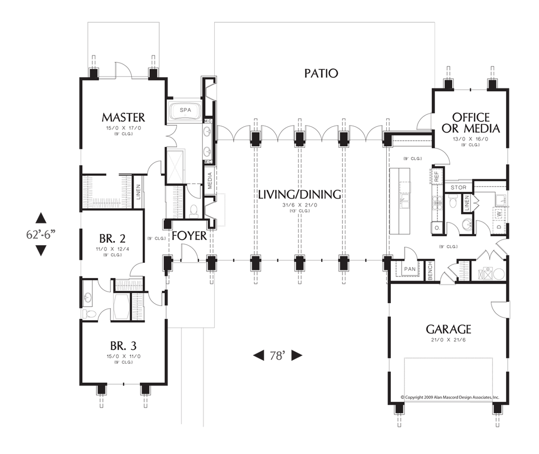 Image for Hampton-Surround Yourself with Natural Beauty-Main Floor Plan