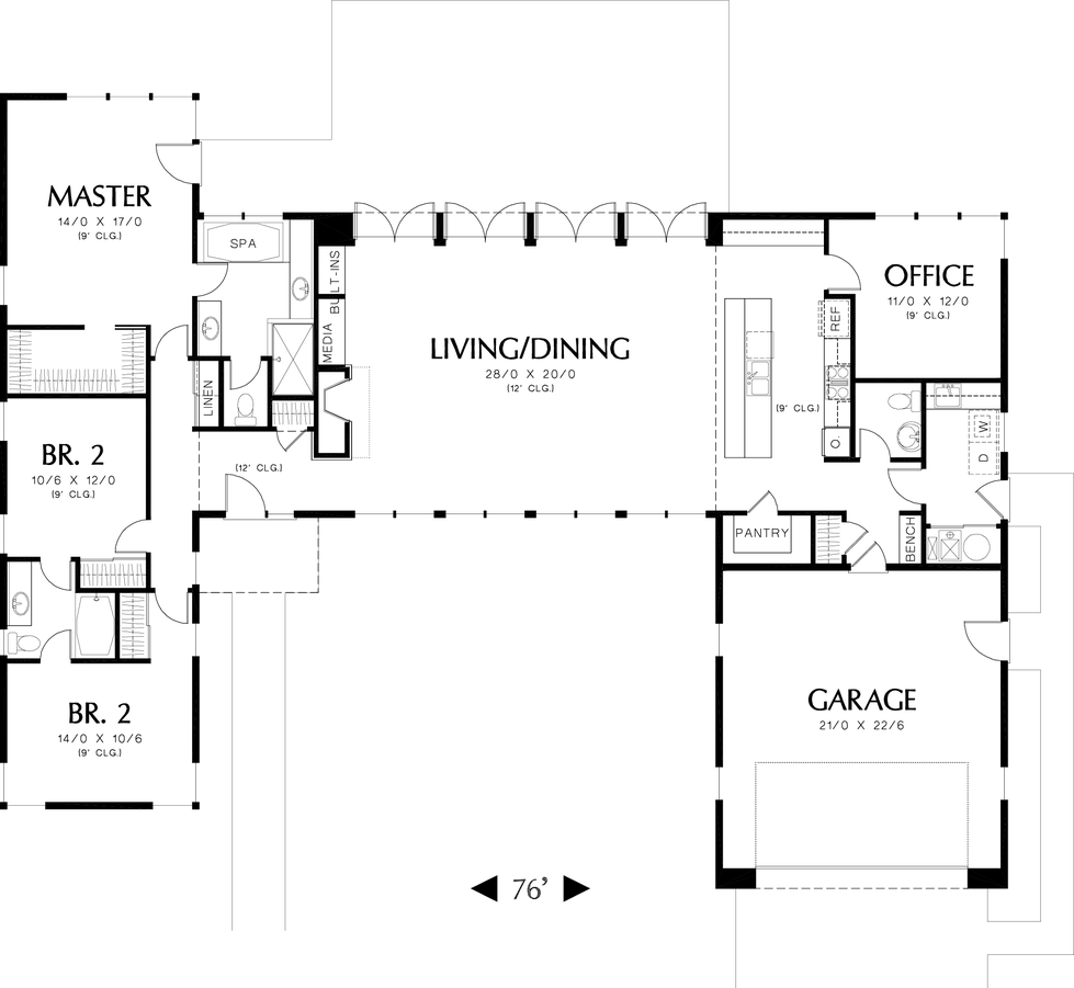 Image for Boston-Amazing Layout, Both Inside and Outdoors  -Main Floor Plan