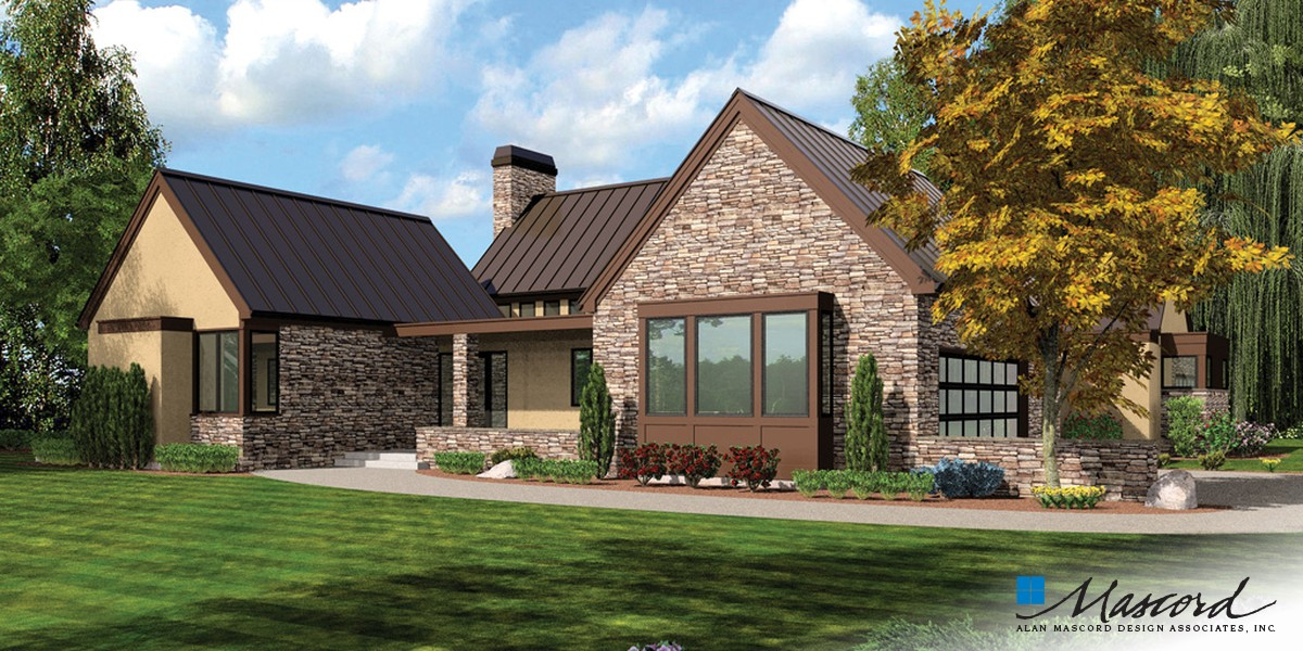 Image for Saxon-Wonderful Farmhouse Layout with Courtyard-Front Rendering