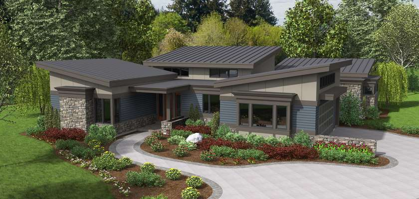 Mascord House Plan 1242A: The Caprica