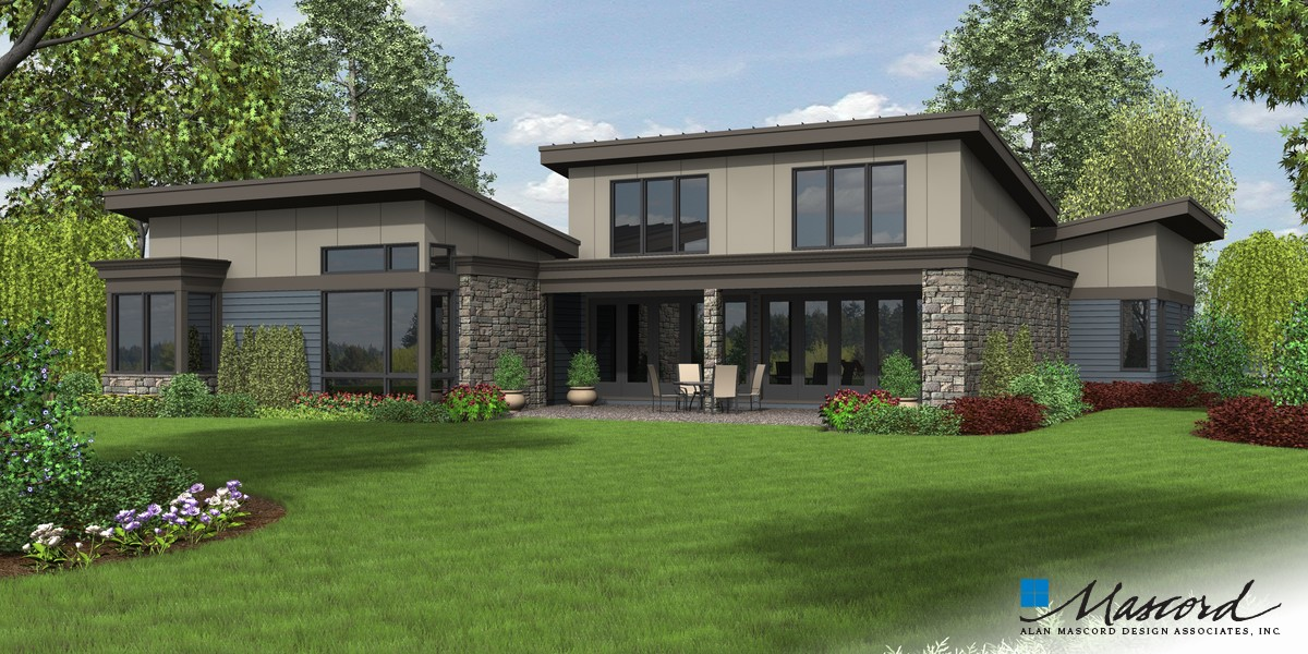 Image for Caprica-You Deserve a Stunning Home Design!-Rear Rendering