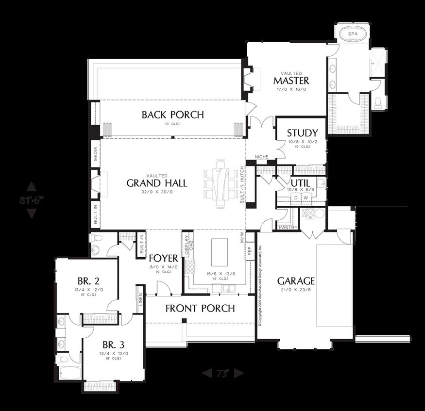 House Plan 1242 -The Saxon