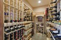 Wine Cellar by Quail Homes
