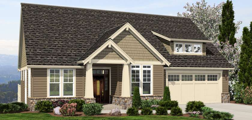 Mascord House Plan 1244: The Brandywine