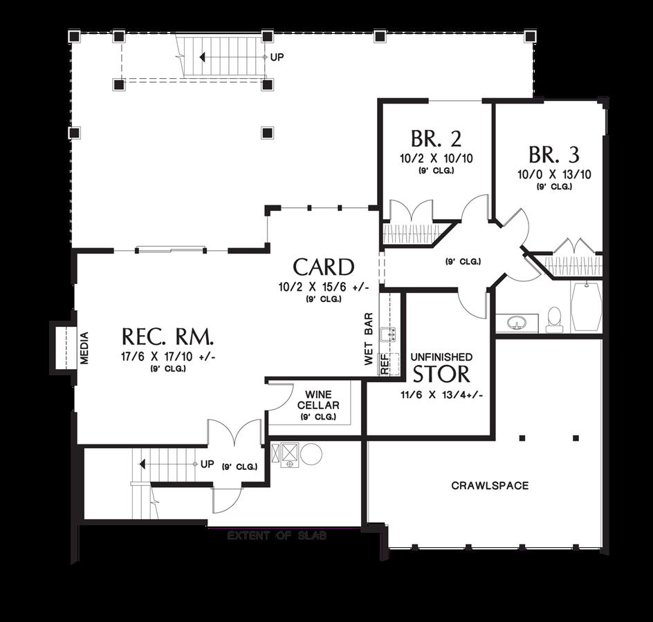 Craftsman House Plan 1244 The Brandywine 2795 Sqft 3 Beds 2 1 Baths