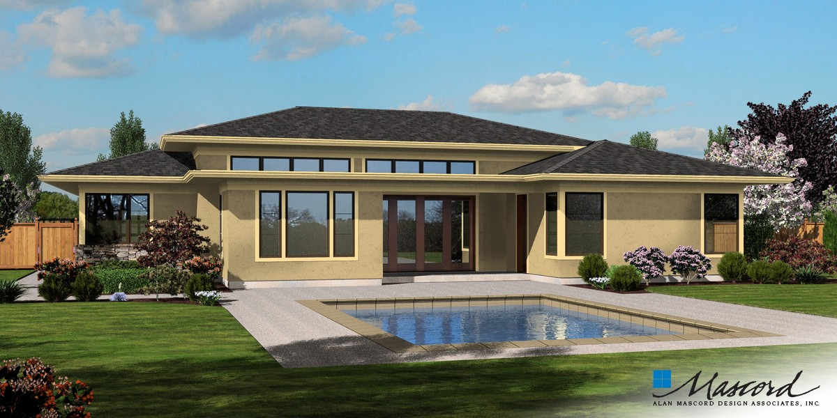 Mascord House Plan 1245 The Riverside