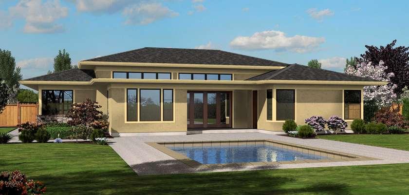 Mascord House Plan 1245: The Riverside