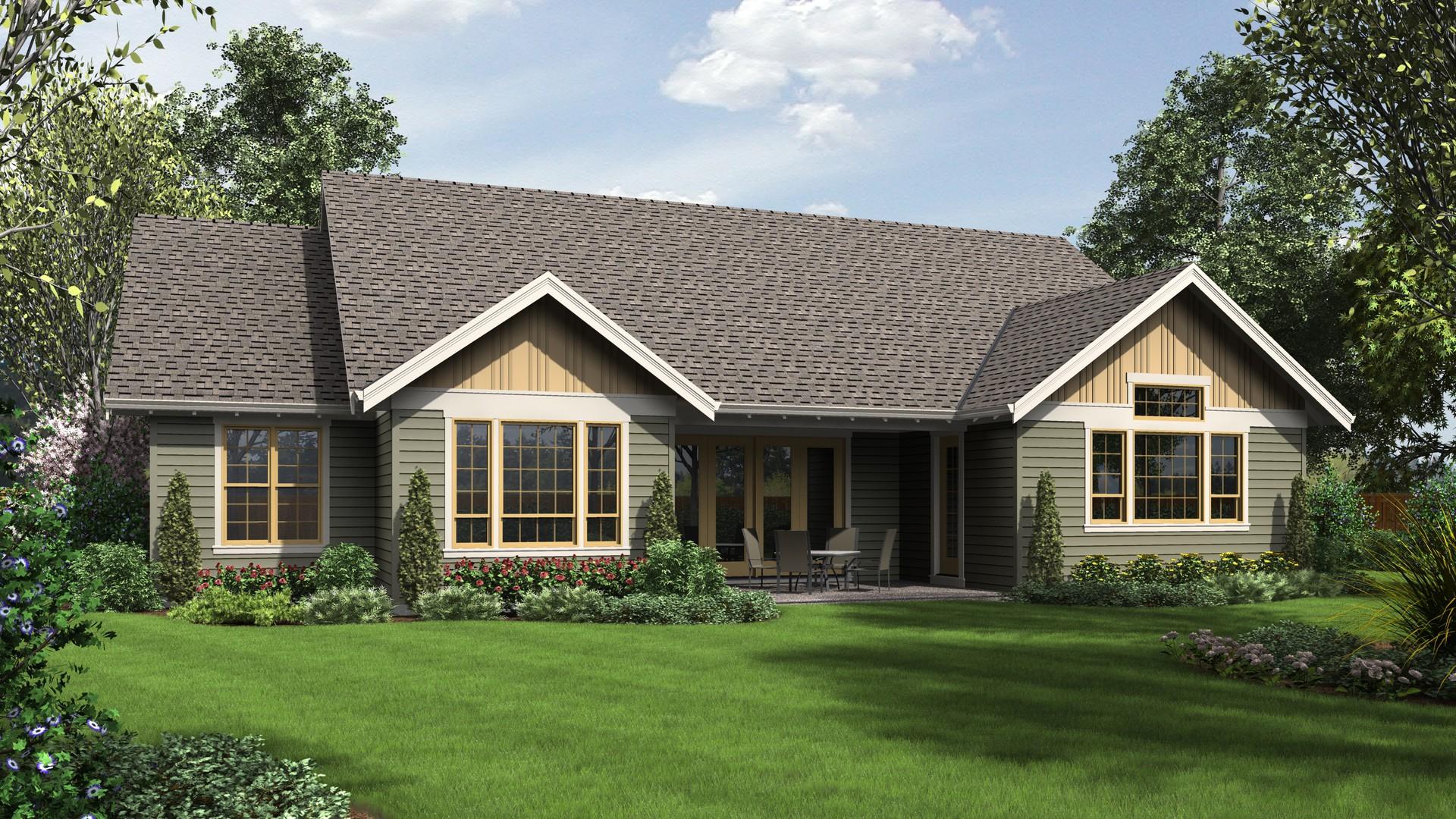 Craftsman House Plan 1245c The Lincoln 2368 Sqft 3