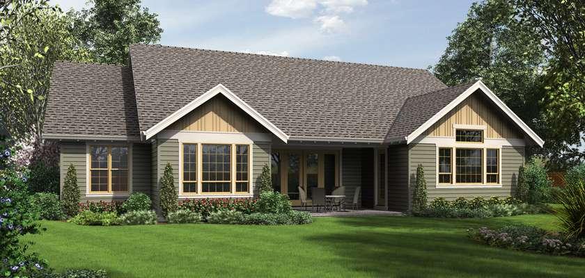Mascord House Plan B1245C: The
