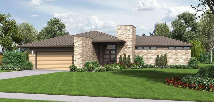 Mascord House Plan 1246: The Houston