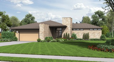 Southwestern ranch  | <b><a href='//houseplans.co/house-plans/1246' title='House Plan 1246 - The Houston' >The Houston: </a></b><br>