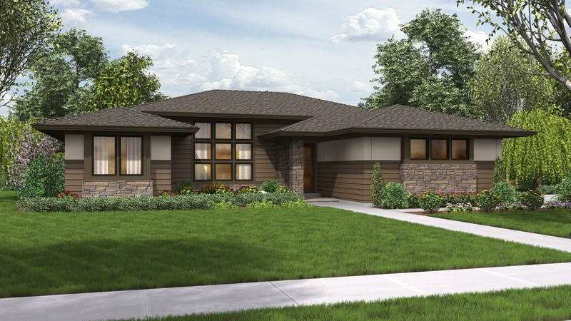 Contemporary House Plan 1247 The Dallas 2136 Sqft 4 Beds