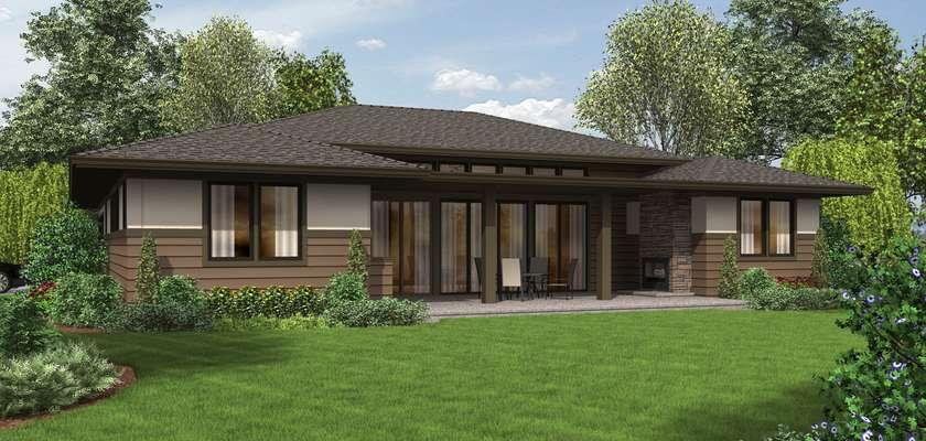 Mascord House Plan 1247: The Dallas