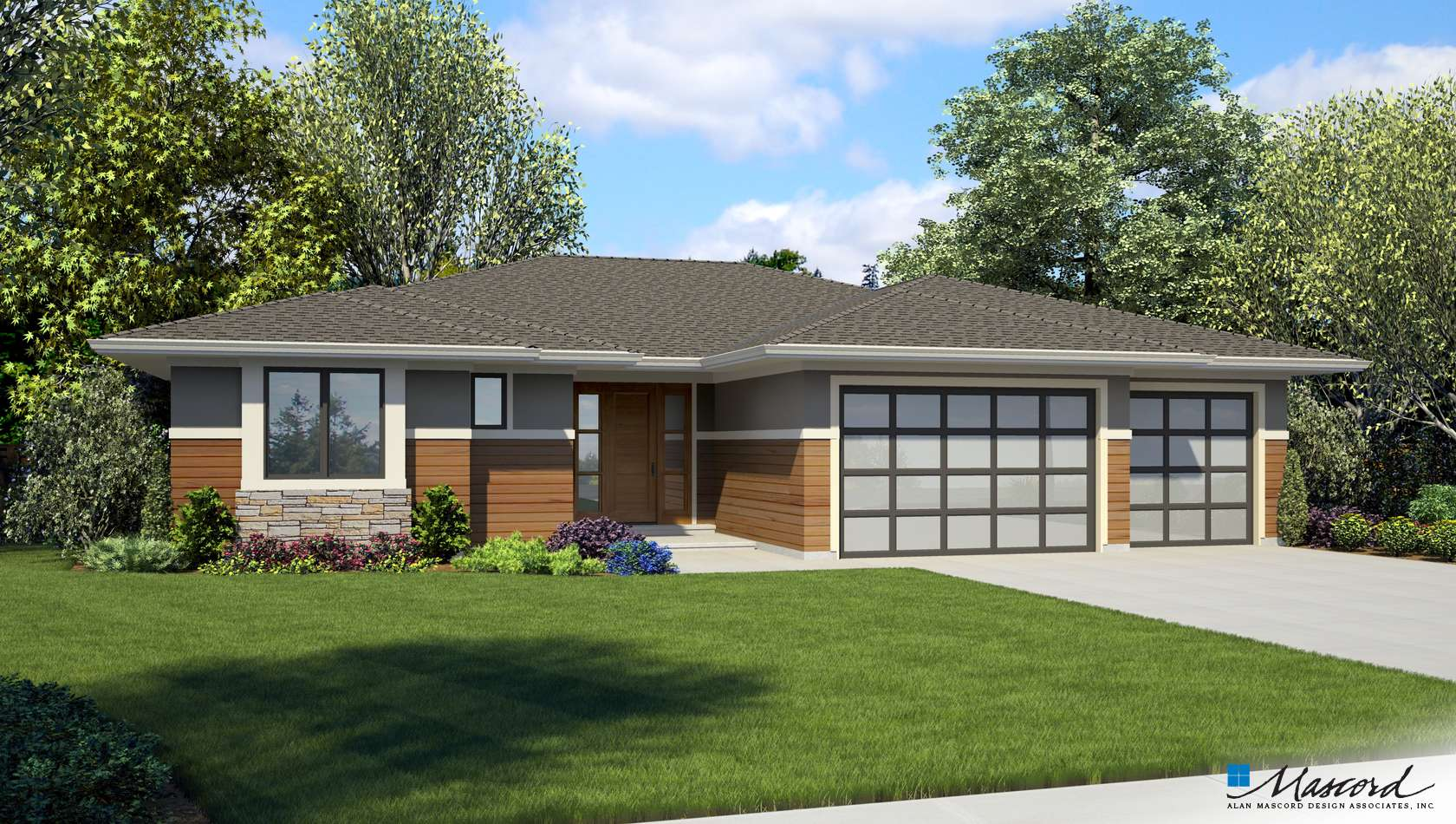 Main image for house plan 1247B: The Erwin