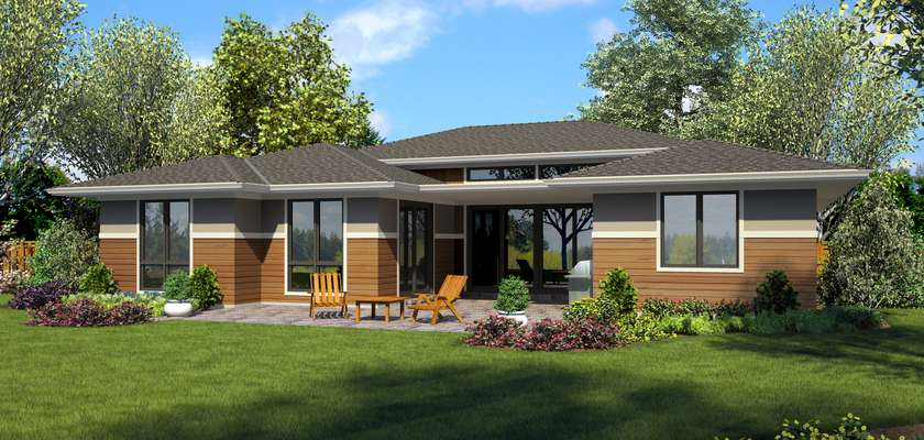 Mascord House Plan 1247B: The Erwin