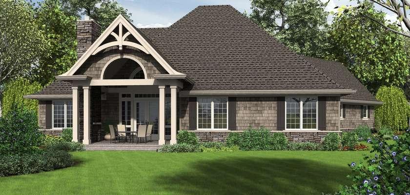 Mascord House Plan 1248: The Ripley