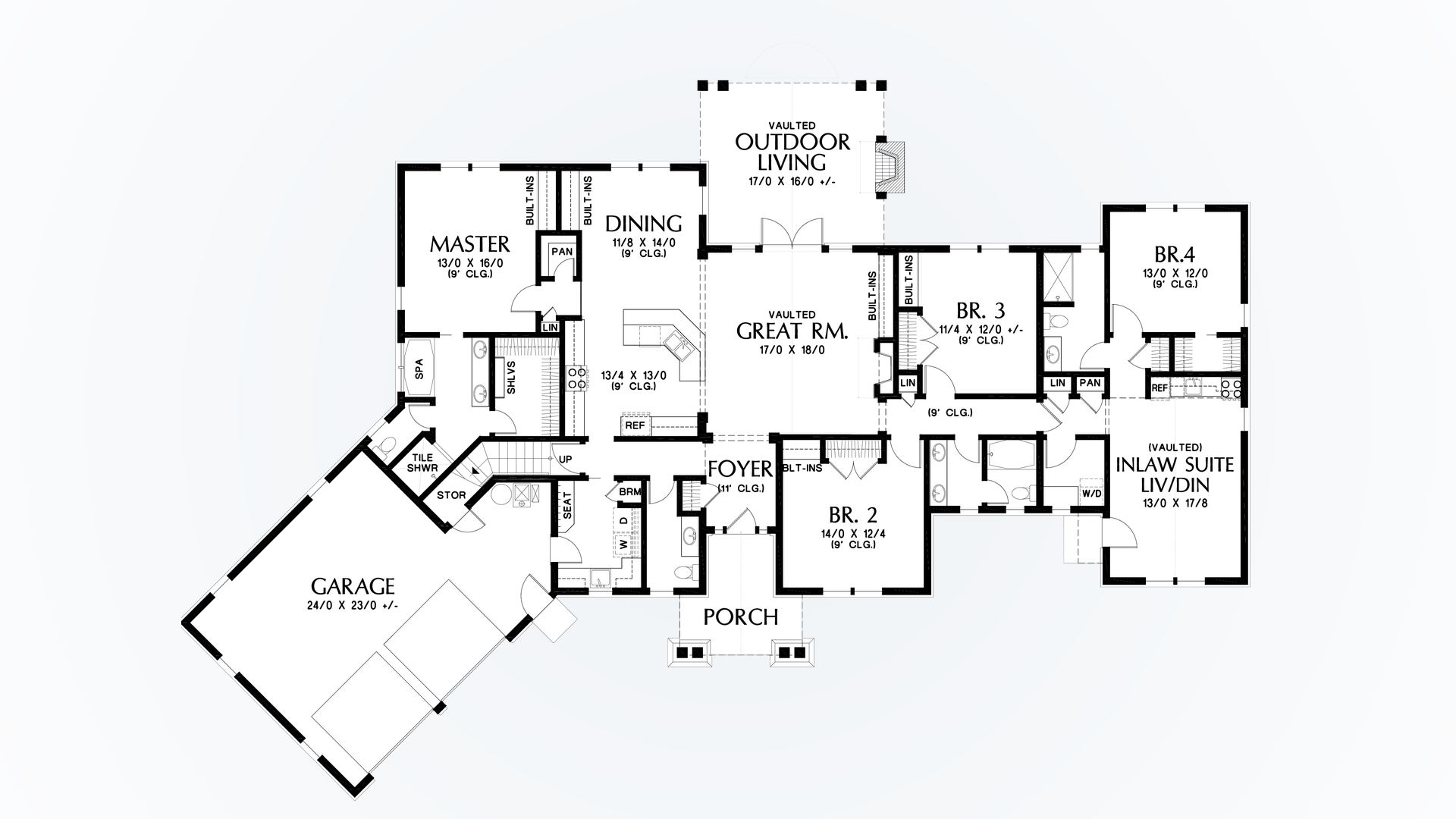 mascord house plan 1248a the bishop image for bishop in law suite